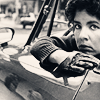 momma: Actress Stockard Channing in the 70s seated in a car (fangirl stockard old school)
