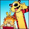 misterwalnut: Calvin & Hobbes (sillyface)