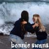 youngraven: Shaz and myself fling one another into the sea (Bonnie swans)