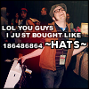 drunkoffthestars: (FOB - patrick bought HATS)