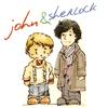 fanatikva: (John and Sherlock cartoon)