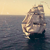 sharpiefan: Tall ship under full sail (Sailing)