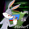 spotzle: (Ain't I a stinker?)