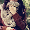 simplicity: (scarf)