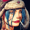 spindle_ella: (blue tank girl)