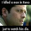 chemm80: (castiel killed a man in reno)