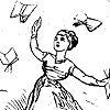 friede: (18C: Tossing Books) (Default)