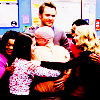 automaticdoor: the cast members from Community in a giant group hug (community group hug)