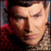 lferion: Close up portrait of the First Romulan Commander from the ST-ToS episode Balance of Terror, played by Mark Lenard (ST-ToS_1st_Rom_Cmdr)