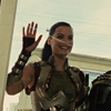 muccamukk: Sif waving and grinning hugely. (Thor: HI! HI! :D :D)