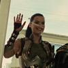 muccamukk: Sif waving and grinning hugely. (Thor: HI! HI! :D :D)