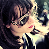 kiki_eng: Annie Monroe of The Like wearing sunglasses (bandom) (Annie wearing sunglasses)