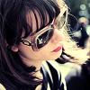 kiki_eng: Annie Monroe of The Like wearing sunglasses (bandom) (Annie wearing sunglasses)