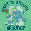 vegetasbubble: (smurf around)