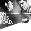 nwhepcat: Sam and Dean/car/text On This Road (dean sam road all at once)