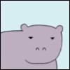 illian: (Tiny Hippo)