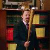 tgw: (guest stars and baseball bats)