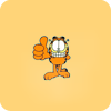 acari: Garfield (rock on)