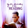 sweet_minbari_jesus: Franklin- go away im reading (Franklin: Go away I'm reading)
