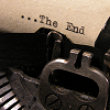 "joyfulfeather: A typewriter page with the text ""the end"" (Writing - the end)"