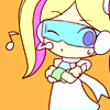 terabient: Space girl winks (Pop'n Music: Tune Street)