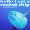 1fish_2fish: A mola-mola rocketship (I'm a rocketship!)