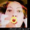 jewelweed: (Bubble Blowing Amanda)