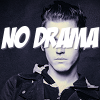 pennyplainknits: Mikey Way's face with the words no drama superimposed across it (no drama)