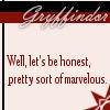 spookyronny: (Gryffondor Marvellous)