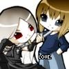 nezumitoo: (Chibis in love, Love.)