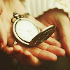 "excelsis: stock photo of a gold pocket watch in someone's hands (☾ (otp) ""i found you i finally found you)"
