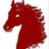 garvey: (Red horse)
