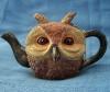 garvey: (Owl teapot)