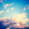 jetlag: Stock icon of clouds. (Default: Clouds)
