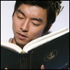 skywardprodigal: Gong Yu crowned and reading (hidden treasure)