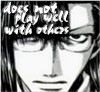 "veleda_k: Tenpou from Saiyuki Gaiden. Text says, ""Does not play well with others."" (Saiyuki: I'm a real asshole)"