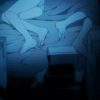 slakemoths: two pairs of feet in a small bed, muffled by darkness (02)