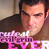 blackpearl_phan: Zachary Quinto (Sylar and Spock) with a smirk on his face (zachary quinto)