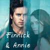 sabaceanbabe: Armie Hammer as Finnick and Mekenna Melvin as Annie (Finnick and Annie)