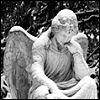 storiwr: (Angel Statue Sitting)