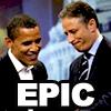 madtobesaved: (Jon and Barack. EPIC)