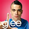 healingmirth: Puck from Glee making the L in gLee (glee)
