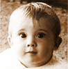 pensnest: bright-eyed baby me (Atheist with Fossil)