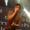 selectivelyurie: (brendon;; rock band - on his knees)