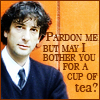 sesquipedaliatic: Neail Gaiman requests tea (Tea please!)