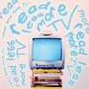 twistedhitler07: ([stock] Read Less More TV)