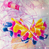 amor_remanet: Eternal Sailor Moon's torso and thighs; she's surrounded by ribbons and her ruffled skirts flow like it's windy. (eternal sailor moon.)
