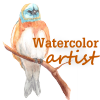 valiha: (watercolor bird)