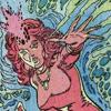 ceri: woman emitting stylized psychic blast (Cockrum Jean)