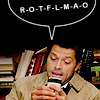 changeyourstars8: (Misha texting)